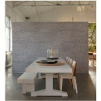 nlxl materials wallpaper by piet hein eek  silver grey brick