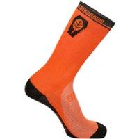 Santini Il Lombardia High Profile Socks - Orange - XL-XXL
