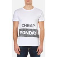Cheap Monday Mens Standard Reverse T-Shirt - White - XL