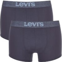 Levis Mens 200SF 2-Pack Trunks - Light Denim - M