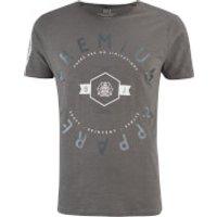 Smith & Jones Mens Kinetic Crew Neck T-Shirt - Charcoal - L