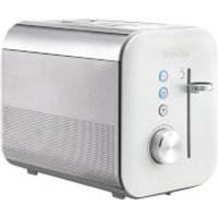 Breville VTT686 High Gloss 2 Slice Toaster - White