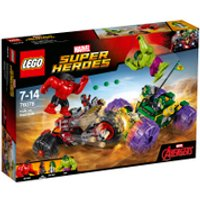 LEGO Marvel Superheroes: Hulk vs. Red Hulk (76078)