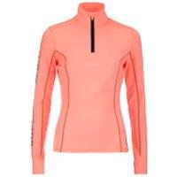 Superdry Womens Gym Half Zip Track Top - Fluro Coral Grit - L