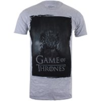 Game of Thrones Mens Throne T-Shirt - Grey Marl - S