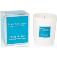 Max Benjamin Scented Glass Candle in Gift Box - Blue Azure