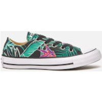 Converse Womens Chuck Taylor All Star Ox Trainers - Menta/Black/White - UK 3