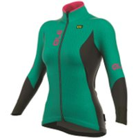 Al Womens Winter Jacket - Green/Pink - L