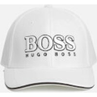BOSS Green Mens Small Logo Cap - White