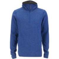 Fjallraven Mens High Coast Wool Hoody - Estate Blue - XXL