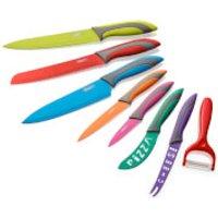 Swan 8 Piece Multi Colour Knife Set