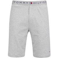 Tommy Hilfiger Mens Icon Cotton Shorts - Grey Heather - S