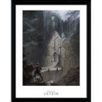 Skyrim Elf Temple Framed Photographic - 16 x 12