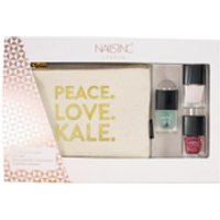 nails inc. Peace, Love, Kale Gift Set 3 x 5ml