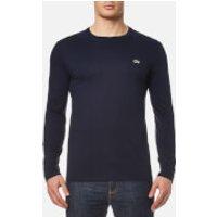 Lacoste Mens Long Sleeve T-Shirt - Navy - 6/XL