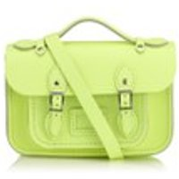 The Cambridge Satchel Company Womens Mini Satchel - Neon Yellow