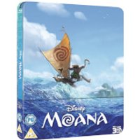 Moana 3D (Includes 2D Version) - Zavvi Exclusive Limited Edition Steelbook