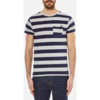 Scotch & Soda Mens One Pocket Distillery T-Shirt - Blue - S