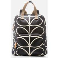 Orla Kiely Womens Stem Tote Backpack - Black