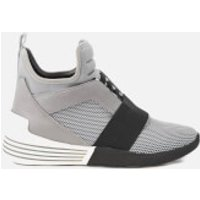 Kendall + Kylie Womens Braydin Elastic Trainers - Grey/Black/Grey - UK 5/US 7