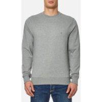 Tommy Hilfiger Mens Basic Crew Neck Sweatshirt - Cloud Heather - S