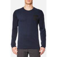 The North Face Mens L/S Fine T-Shirt - Urban Navy - L