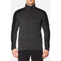 The North Face Mens Glacier Delta 1/4 Zip Jacket - Medium Grey Heather - XXL