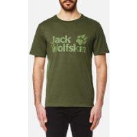 Jack Wolfskin Mens Pride Function 65 T-Shirt - Burnt Olive - S