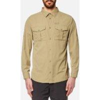 Jack Wolfskin Mens Atacama Roll Up Shirt - Sand Dune - XXL