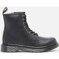 Dr. Martens Kids Delaney Lace Boots - Black - UK 1 Kids
