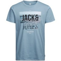 Jack & Jones Mens Core Poster T-Shirt - Blue - XXL