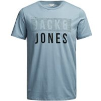 Jack & Jones Mens Core Tate T-Shirt - Light Blue - XL