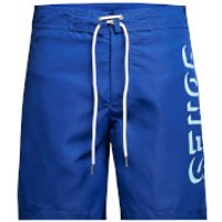 Jack & Jones Mens Classic Board Shorts - Surf The Web - XL