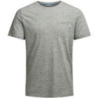 Jack & Jones Mens Core Inject T-Shirt - Grey Marl - L