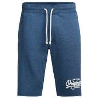 Jack & Jones Mens Originals Holting Casual Shorts - Blue - XL