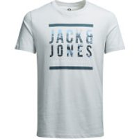 Jack & Jones Mens Core Poster T-Shirt - Oyster Mushroom - M