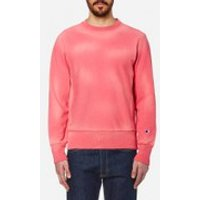 Champion Mens Crew Neck Sweatshirt - Pink - L