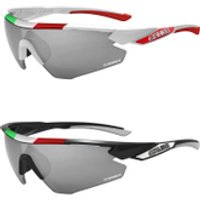 Salice 012 Italian Edition CRX Photochromic Sunglasses - White/Grey