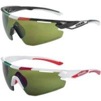 Salice 012 ITA Sports Sunglasses - Black/Infrared