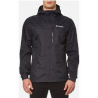 Columbia Mens Pouring Adventure Waterproof Jacket - Black - XL