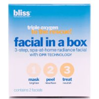 bliss Triple Oxygen to the rescue! Facial in a Box Set