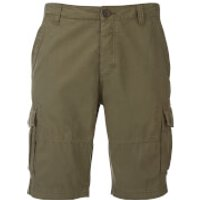 Threadbare Mens Hulk Cargo Shorts - Dark Khaki - W38