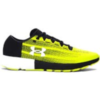Under Armour Mens SpeedForm Velocity Running Shoes - Smash Yellow/Black - US 12.5/UK 11.5