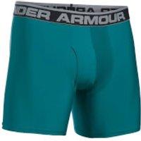 Under Armour Mens Original 6 Boxerjock - Turquoise Sky - XXL