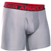 Under Armour Mens Original 6 Boxerjock - True Grey Heather - S