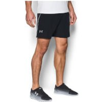 Under Armour Mens CoolSwitch Run 7 Shorts - Black - L