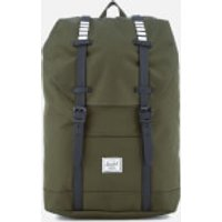 Herschel Supply Co. Retreat Mid-Volume Backpack - Forest Night/Black Rubber/White Inset