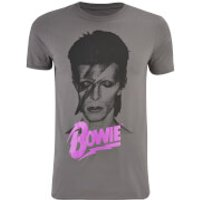 David Bowie Mens Aladin T-Shirt - Charcoal - M