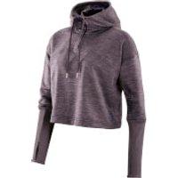 Skins Plus Womens Wireless Tech Fleece Cropped Hoody - Haze/Marle - S