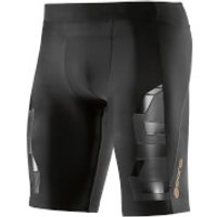 Skins A400 Mens Compression Half Tights - Oblique - S